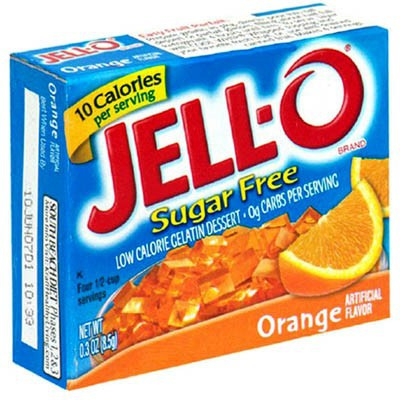 JELLO SUGAR FREE ORANGE