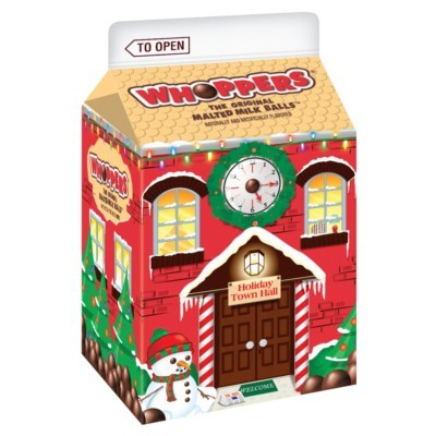 CLEARANCE - HERSHEY'S WHOPPERS HOLIDAY MILK BOX