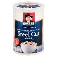 QUAKER STEEL CUT OATS OATMEAL
