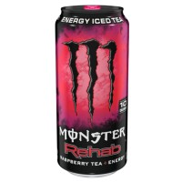 MONSTER REHAB RASPBERRY ENERGY ICED TEA