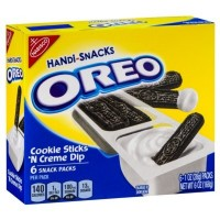 CLEARANCE - NABISCO OREO COOKIE STICKS 'N CREME DIP 6 HANDI-SNACKS