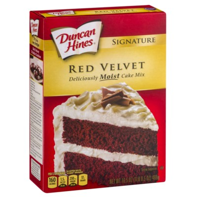 Buy Duncan Hines Signature Red Velvet Cake Mix American Food Shop