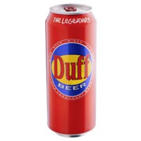 DUFF BEER - CAN