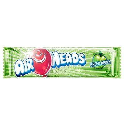 AIRHEADS GREEN APPLE TAFFY CANDY