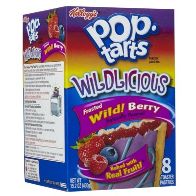 KELLOGG'S POP TARTS FROSTED WILDLICIOUS WILD BERRY