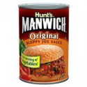 HUNT'S MANWICH SLOPPY JOE SAUCE À HAMBURGER