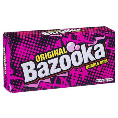 BAZOOKA BUBBLE GUM ORIGINAL