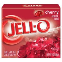 JELLO CHERRY