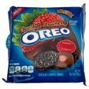 NABISCO OREO CHOCOLATE STRAWBERRY SANDWICH COOKIES