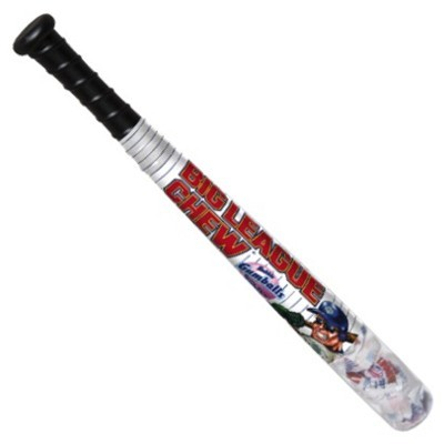 BIG LEAGUE CHEW BASEBALL BAT WITH GUM