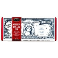 BARTON'S MILLION DOLLAR CHOCOLATE BAR - RICH DARK WITH PEPPERMINT CRUNCH