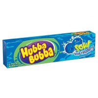 HUBBA BUBBA CHEWING GUMS FRAMBOISE BLEUE