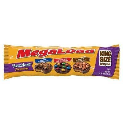 CLEARANCE - MEGALOAD 3 CARAMEL CRUNCH CUPS
