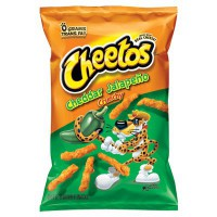 CHEETOS CRUNCHY JALAPENO FROMAGE