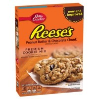 BETTY CROCKER REESE'S PEANUT BUTTER CHOCOLATE CHUNK COOKIE MIX