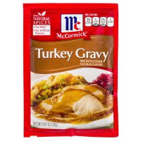MCCORMICK'S TURKEY GRAVY MIX