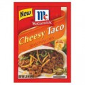 MCCORMICK'S CHEESY TACO SEASONING MIX
