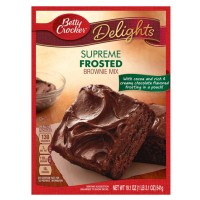 BETTY CROCKER FROSTED SUPREME BROWNIE MIX