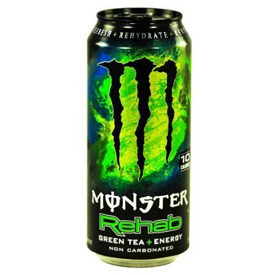 MONSTER REHAB GREEN TEA ENERGY ICED TEA