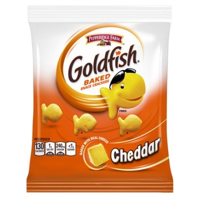 CLEARANCE - PEPPERIDGE FARM GOLDFISH CHEDDAR SMALL