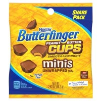CLEARANCE - BUTTERFINGER MINIS PEANUT BUTTER CUPS