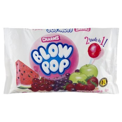 CHARMS BLOW POP LOLLIPOPS BAG