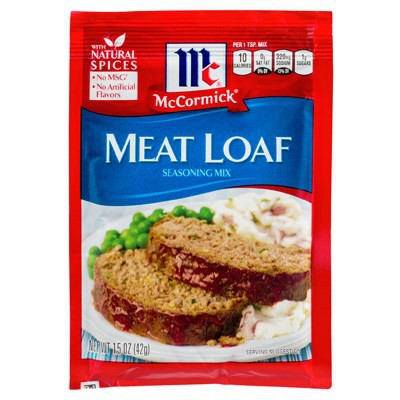 MCCORMICK'S MEAT LOAF SEASONING MIX