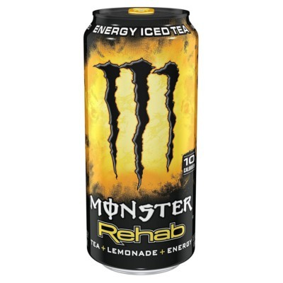 MONSTER REHAB LEMONADE ENERGY ICED TEA