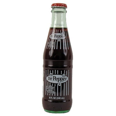DR PEPPER CANE SUGAR BOTTLE