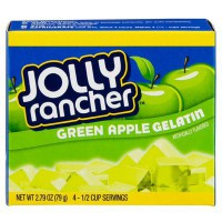 JOLLY RANCHER GELATIN MIX GREEN APPLE