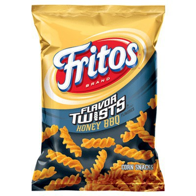 FRITOS HONEY BBQ FLAVOR TWISTS CORN CHIPS