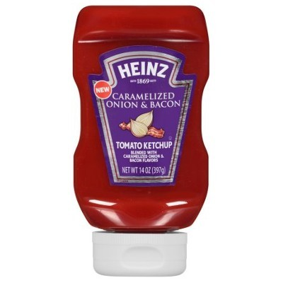 HEINZ KETCHUP CARAMELIZED ONION & BACON