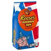 REESE'S MINIATURES PEANUT BUTTER CUPS RED WHITE BLUE