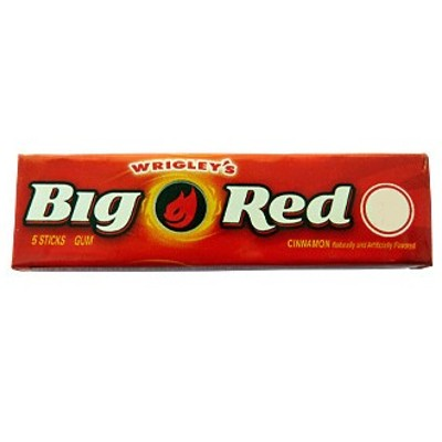 WRIGLEY BIG RED GUM