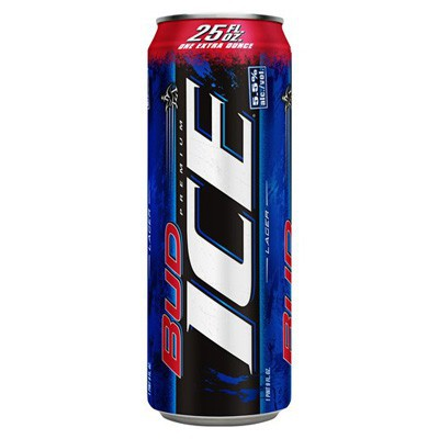 BUD ICE BEER - CAN
