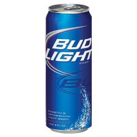 BUD LIGHT BEER - CAN