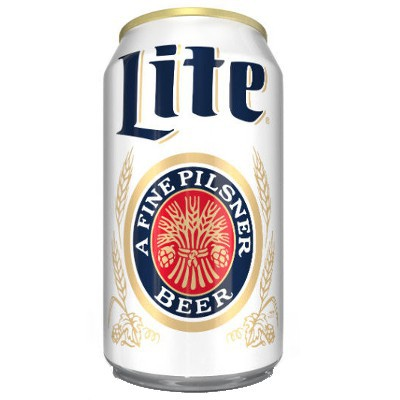 MILLER LITE BEER - CAN