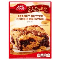 BETTY CROCKER PEANUT BUTTER BROWNIE MIX