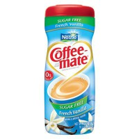 COFFEE MATE VANILLE SANS SUCRE