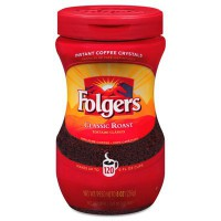 FOLGER'S INSTANT COFFEE CLASSIC ROAST
