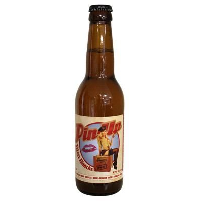 PIN-UP BEER WHITE - BOTTLE