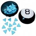 MAGIC 8 BALL CARAMELLE  PREDIZIONE LAMPONE BLU