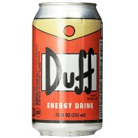 DUFF ENERGY DRINK ORANGE CAN