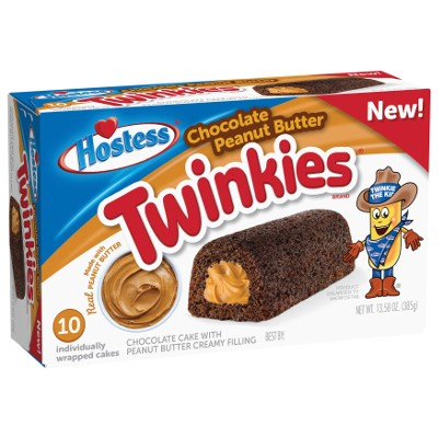 HOSTESS TWINKIES CHOCOLATE PEANUT BUTTER