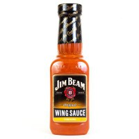 JIM BEAM KENTUCKY BOURBON HOT WING SAUCE
