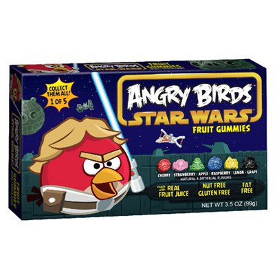 ANGRY BIRDS STAR WARS FRUIT GUMMIES