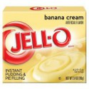 JELLO INSTANT PUDDING BANANA CREAM