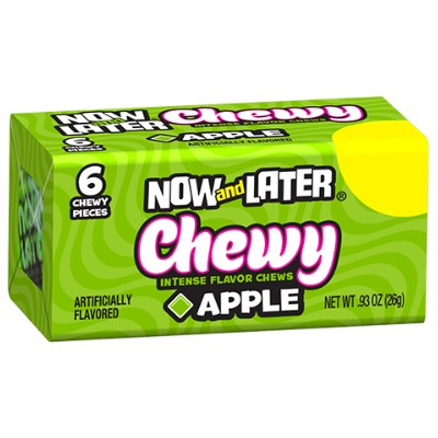 CLEARANCE - NOW & LATER CHEWY CANDY APPLE