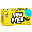 NOW & LATER CHEWY CANDY BANANA