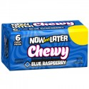 NOW & LATER CHEWY CANDY BLUE RASPBERRY